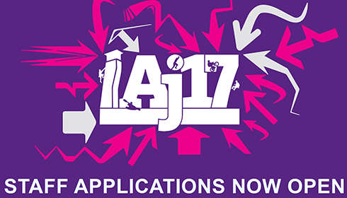 AJ17 Staff Application Form