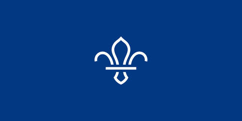 scout_navy_background_white_fleur_de_lis